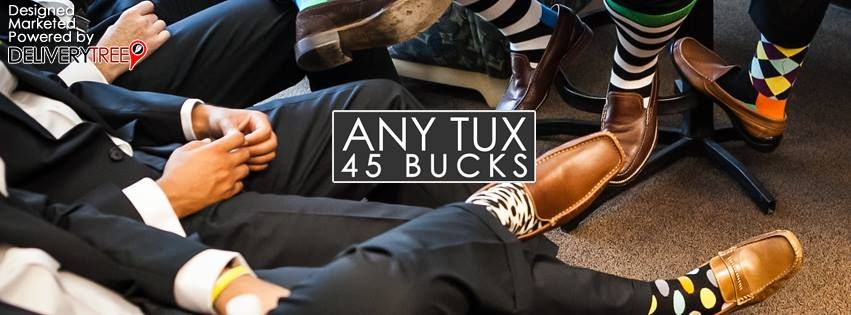 Any Tux 45 Bucks - Orlando Affordability