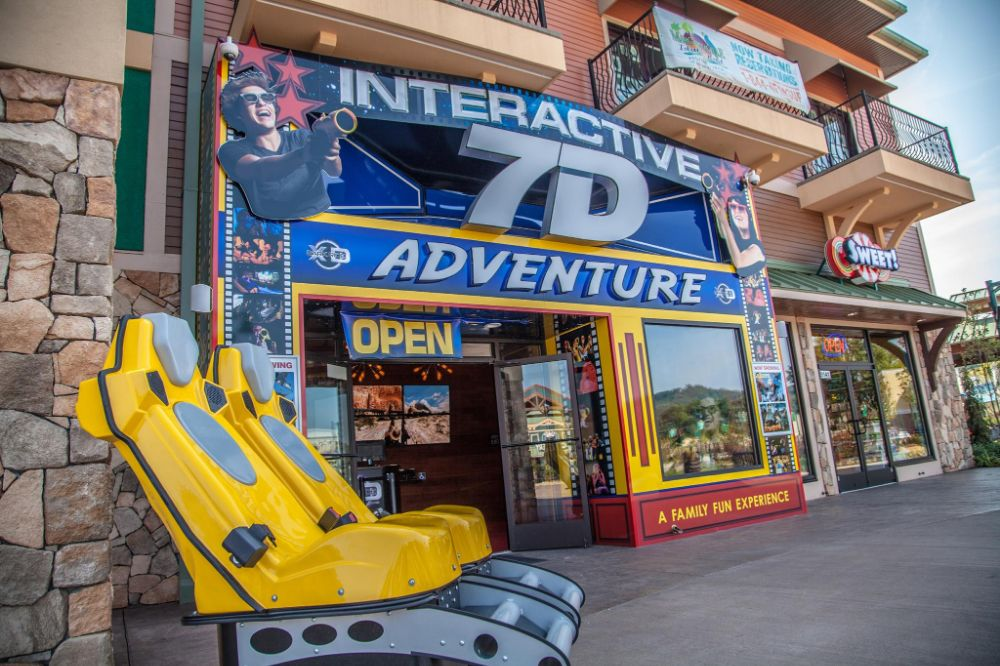 7D Dark Ride Adventure - Orlando Accessibility