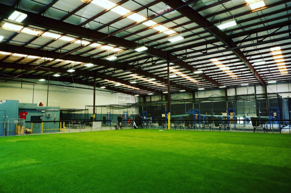 Lebron's Indoor Batting Cages Positively