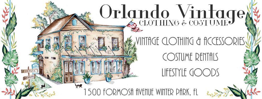 Orlando Vintage Clothing & Costume Documentation