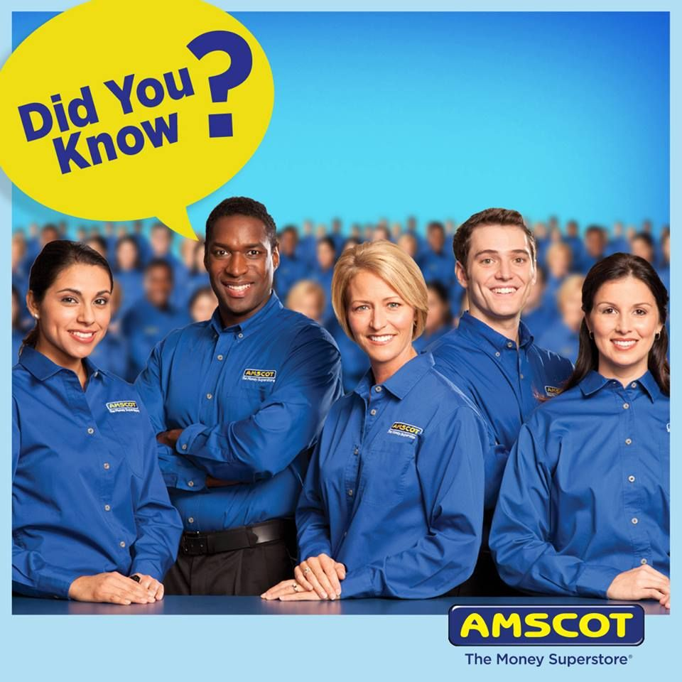 Amscot - The Money Superstore - Orlando Information