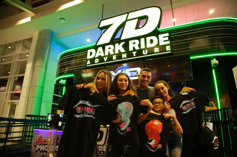 7D Dark Ride Adventure - Orlando Entertainment
