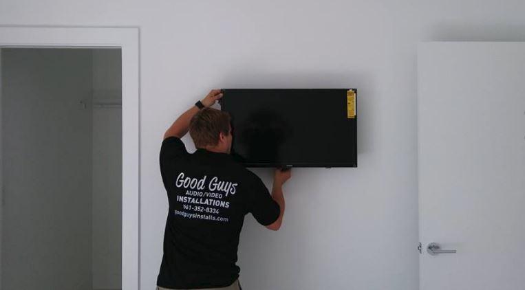 Good Guys TV Mounting - Lake Worth Installation