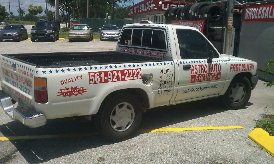 Astro Auto Salvage - Boynton Beach Accommodate