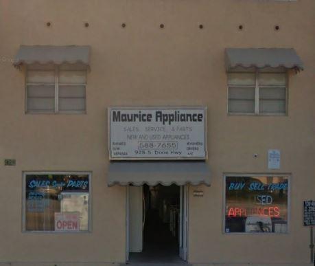 Maurice Appliance Service Webpagedepot